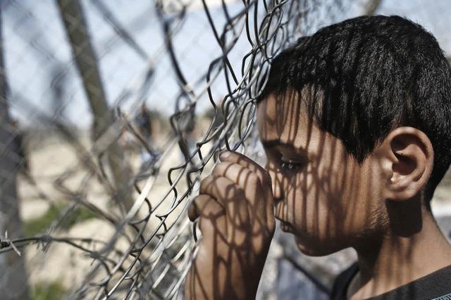 Die Unruhe in griechischen Flüchtlingslagern wächst