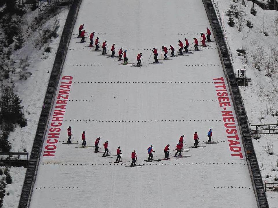 Schnee von gestern?    Foto: Peter Stellmach