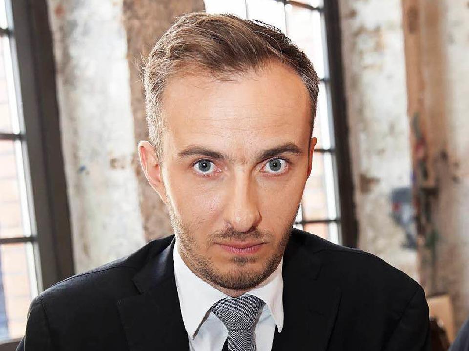 Jan Böhmermann.    Foto: dpa