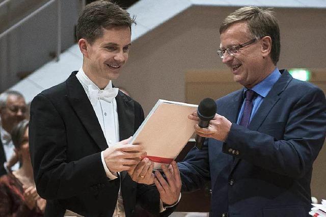 Hannes Reich gewinnt Deutschen Chordirigentenpreis