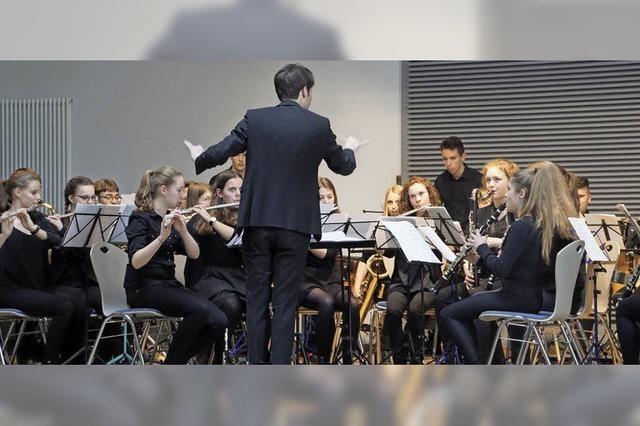 Junge Musiker beeindrucken