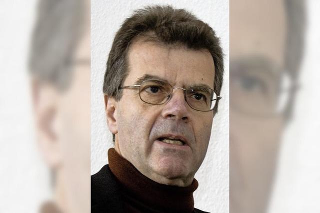 Dr. Thomas Broch aus Pfaffenweiler auf Einladung des ökumenischen Bildungswerkes in Lenzkirch
