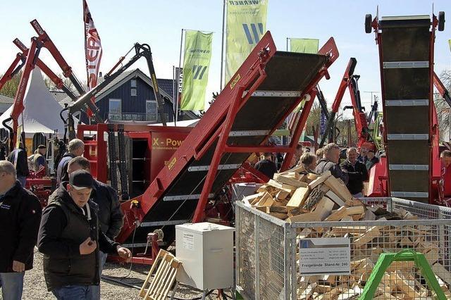 Die Fachmesse Forst live verzeichnet einen Besucherrekord