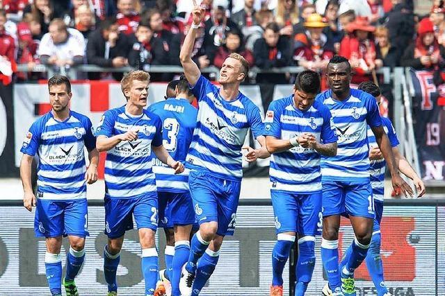MSV Duisburg beendet Nürnbergs Siegeserie