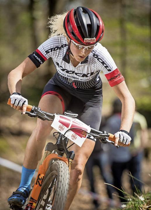 Jolanda Neff auf dem Weg zum Sieg   | Foto: Armin M. Küstenbrück