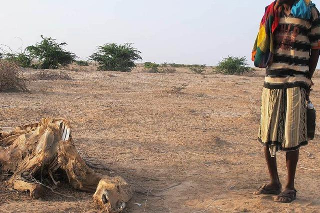 In Somalia breitet sich eine schlimme Dürre aus
