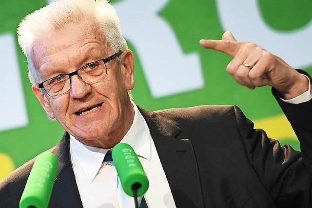 Kretschmann-Welle: Grüne Realos wollen sie nutzen