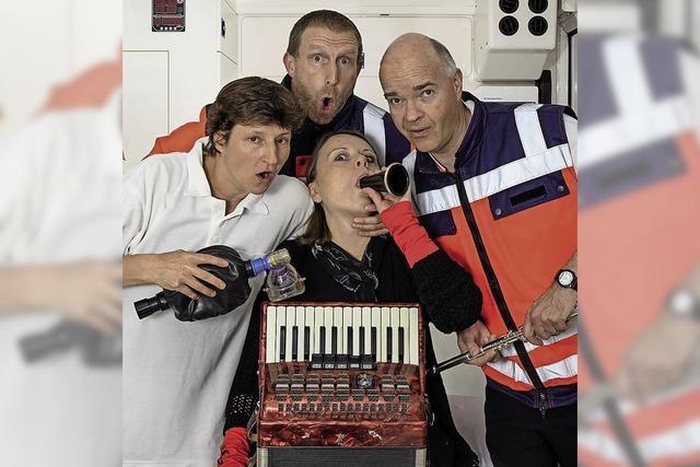Onkel-Doktor-Quartett in Denzlingen und Elzach-Yach