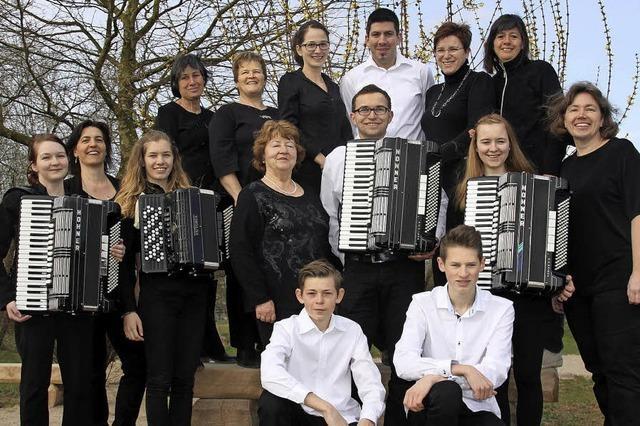 In Offnadingen ist auch das Donnerwetter-Ensemble zu Gast