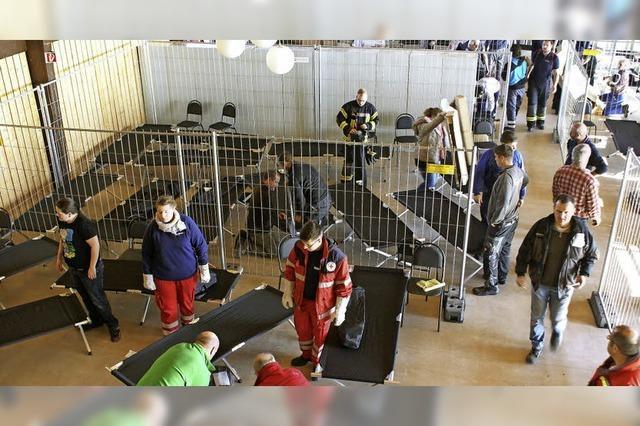 Hotzenwaldhalle bleibt Notunterkunft