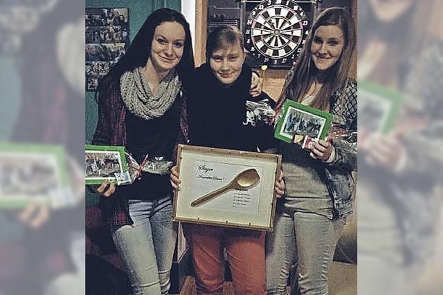 Goldener Kochlöffel für die Jugendlichen aus Hartheim