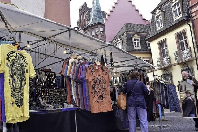 Kartoffelmarkt-Händler fühlen sich in Franziskanerstraße im Abseits