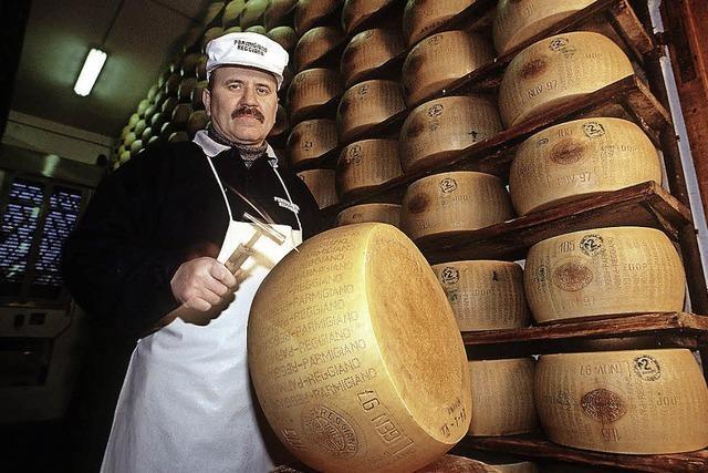 Diebe klauen Käse im großen Stil