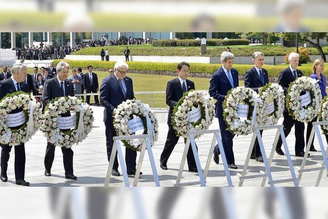 Kerry wirbt in Hiroshima für Frieden