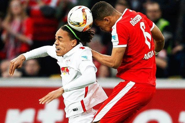 Leipzig wieder punktgleich mit dem SC Freiburg