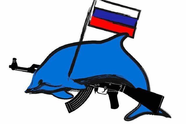 Russische Soldaten sollen bald mit Hilfe von Delfinen kämpfen