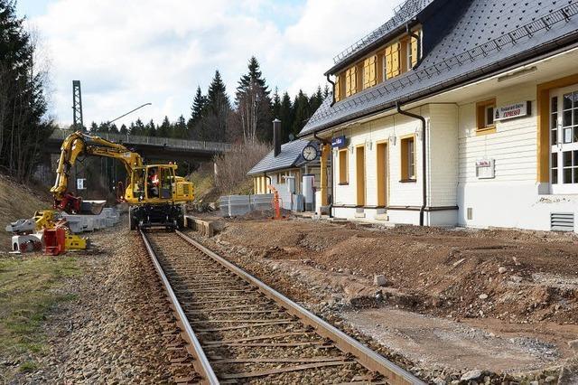 Arbeiten für das Breisgau-S-Bahn-Zeitalter