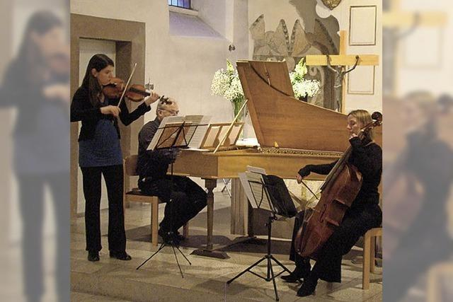 Am 17. April musziert das Ensemble Fraal im Heiligenzeller Schlössle