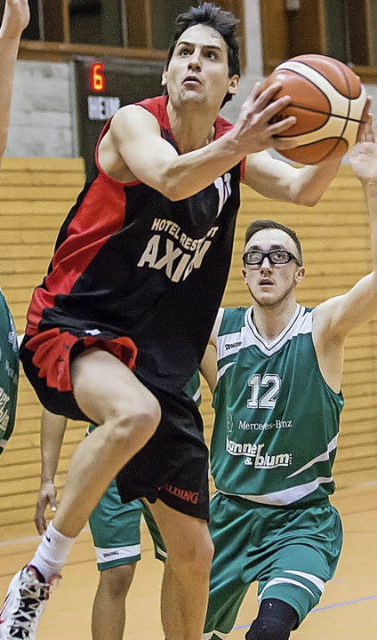 Klasse fast gesichert:  Daniel Glowani...nks) gewann mit dem TVW in Pforzheim.   | Foto: Hubbs