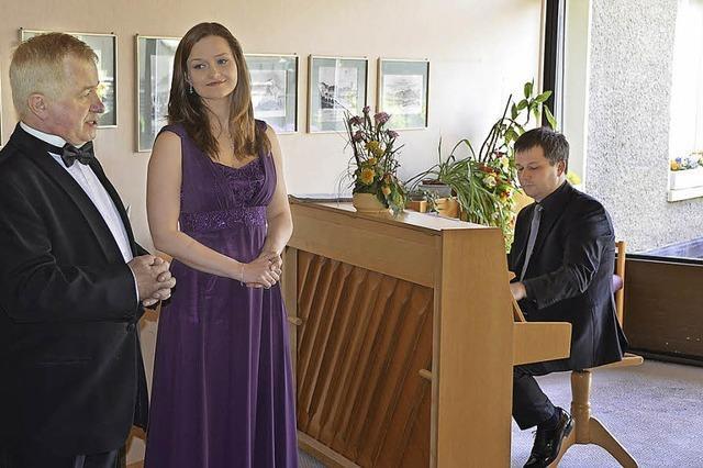Musikalische Freude im Seniorenheim