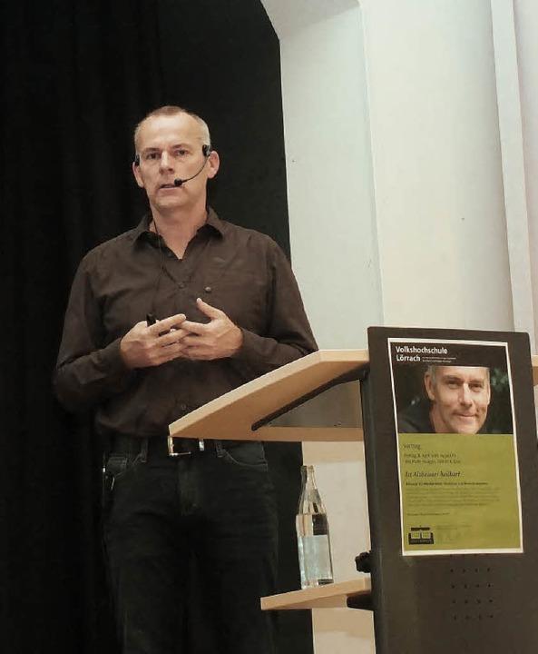 Michael Nehls in Haagen  | Foto: Martina David-Wenk