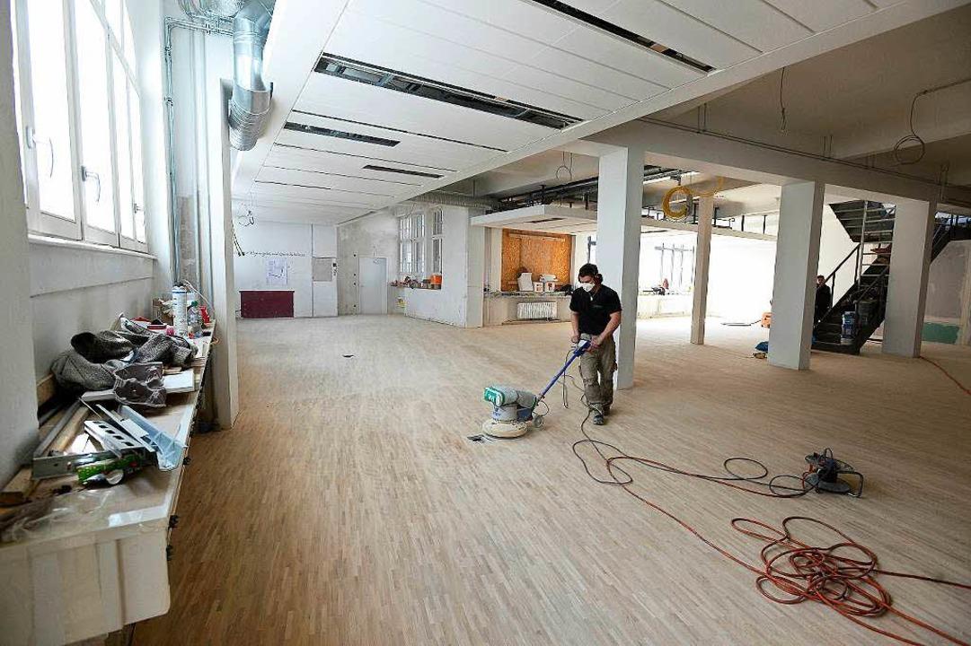 Die Redaktion zieht in Räume, in denen einst die Setzer arbeiteten.  | Foto: Ingo Schneider
