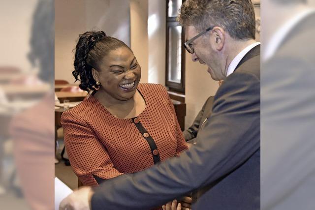 Sylvie Nantcha ist wieder im Freiburer Gemeinderat