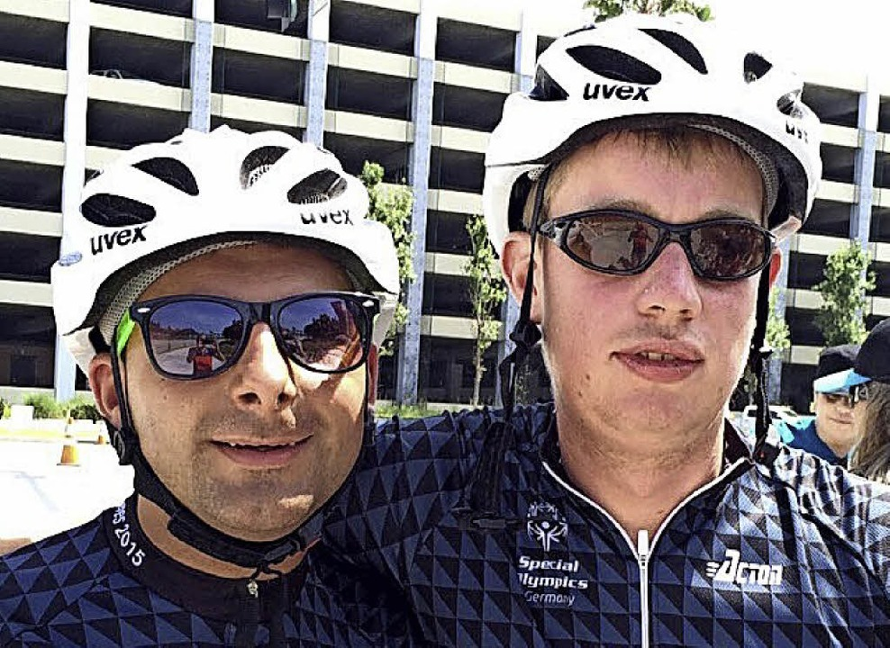 Christian Strittmatter (rechts) und  Matthias Dangl     Foto: ZVG