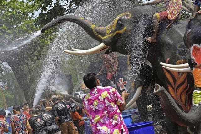 Südostasien feiert Neujahr