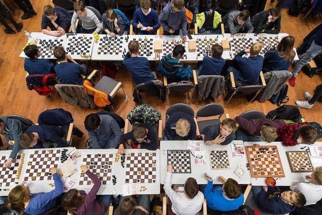 Schach spielen, bis man matt ist