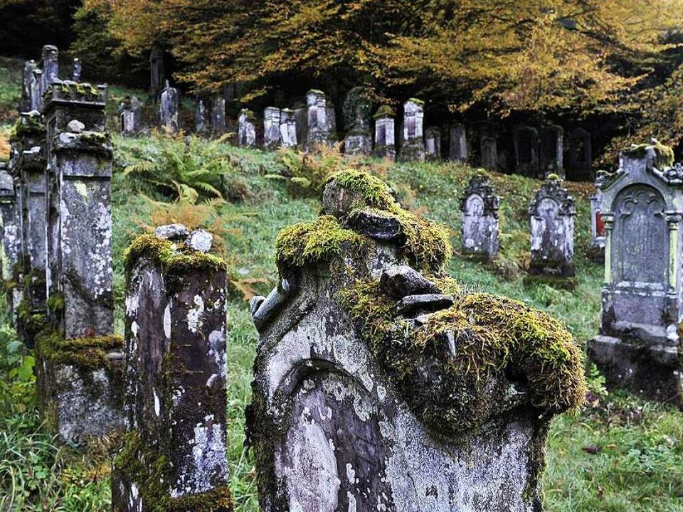 Der jüdische Friedhof in Sulzburg     Foto: Thomas Kunz