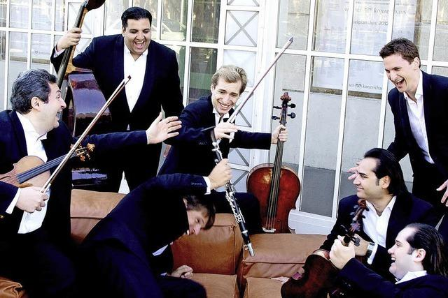 The Philharmonics beim Freiburger Albert-Konzert