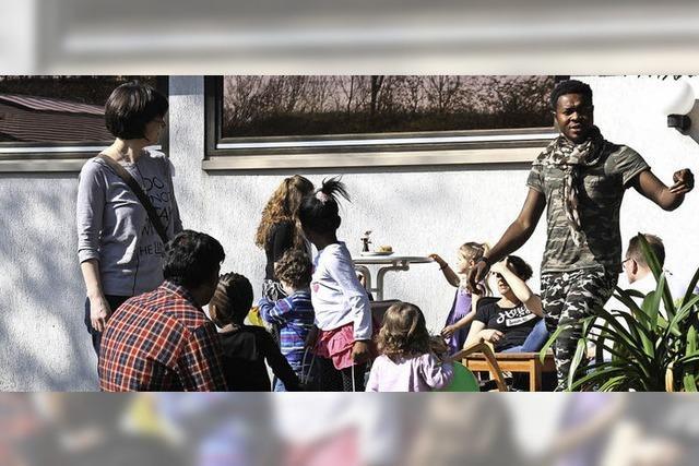 Gelungener Austausch mit Flüchtlingen in Bahlingen