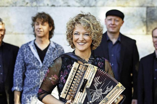 Südstaaten-Musik im Café Verkehrt in Murg Oberhof