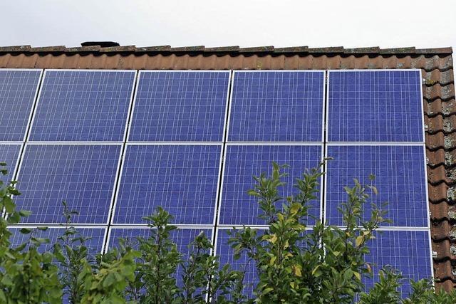 Solarstrom und Speicherung