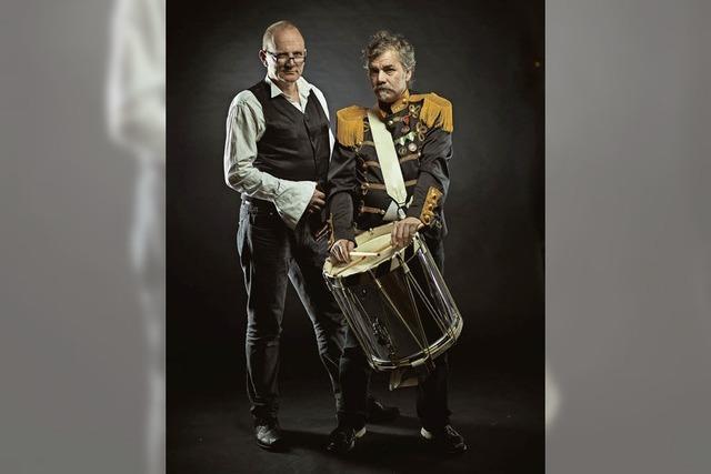 Peter W. Hermanns und Schroeder kommen mit einem Sprechkonzert ins Vorderhaus