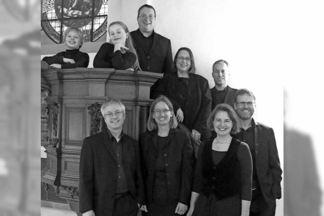 Eine musiklalische Reise nach Venedig hat das Vokalensemble Contrapunkt im Programm