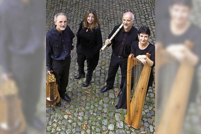 Freiburger Spielleyt mit Musik der Höfe und Hinterhöfe