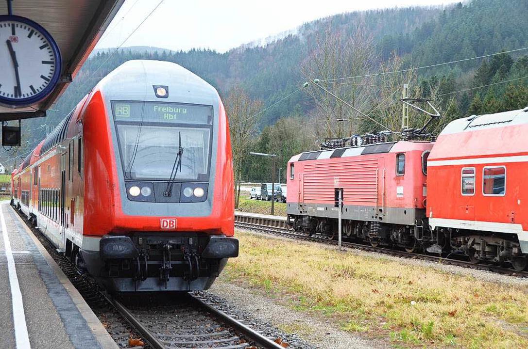 Unfall auf der Höllentalstrecke zwisch...mmelreich und Kirchzarten (Symbolbild)    Foto: Markus Donner