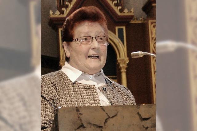 Abschied für Dorle Müller