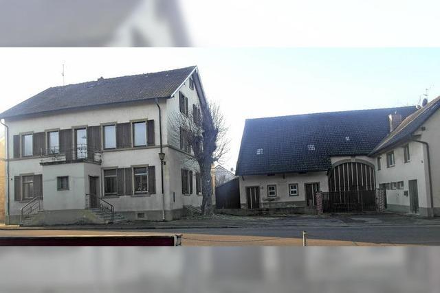 Gasthaus Hellstern in Biengen wird abgerissen