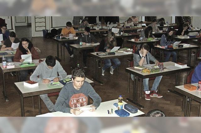 Prüfungen an der Fürstabt-Gerbert-Schule