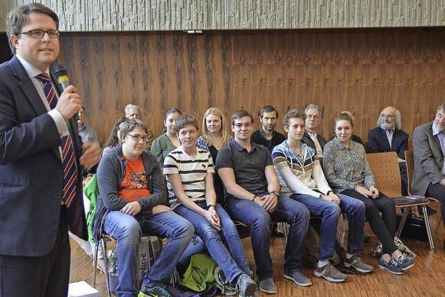 Jugendliche im Gemeinderat