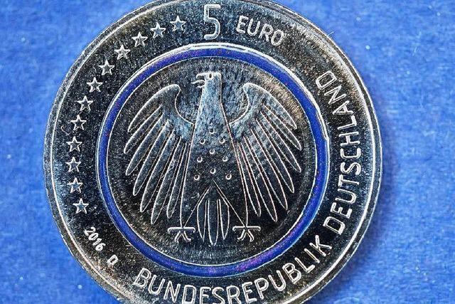 Neue Fünf-Euro-Münze: Wo bekommt man sie in Freiburg?