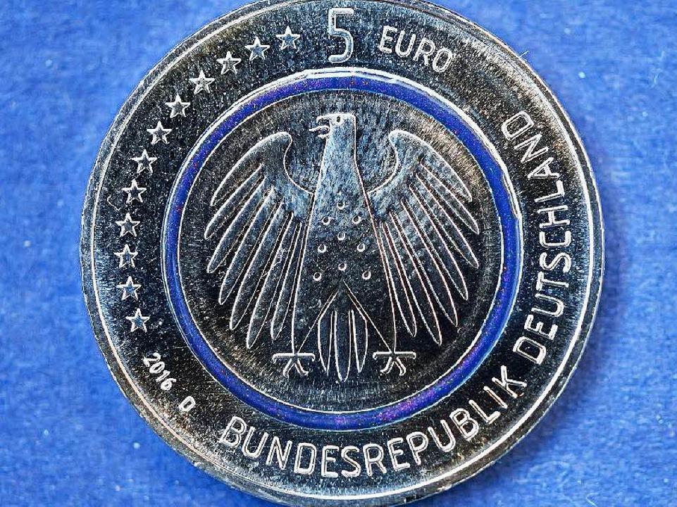 Neue Fünf Euro Münze Wo Bekommt Man Sie In Freiburg Deutschland