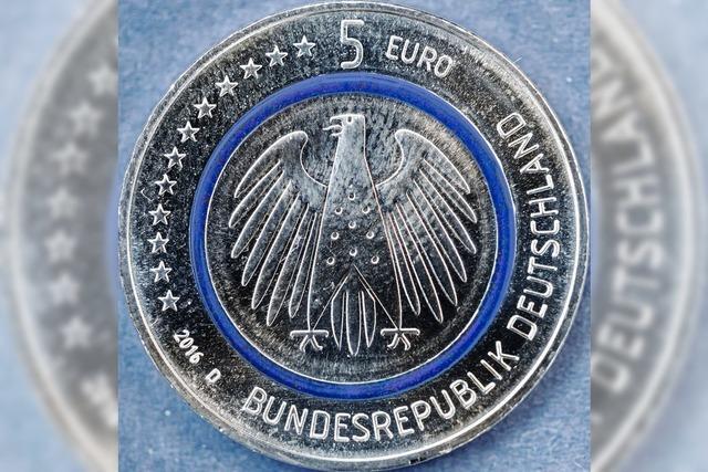 Neue Fünf-Euro-Münze eingeführt