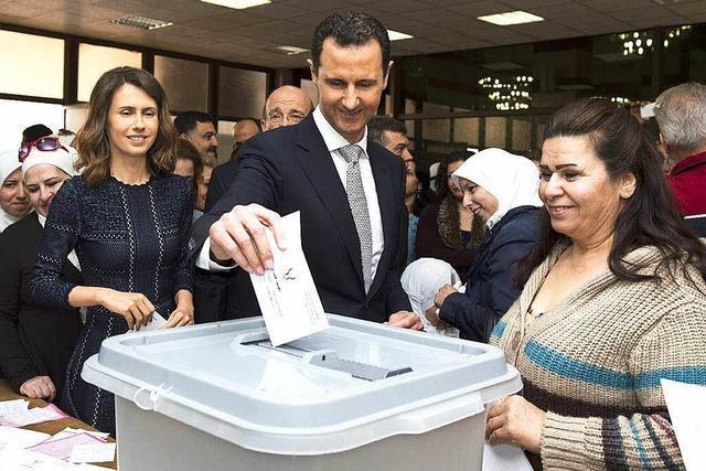 Kritik an Wahl in Syrien durch UNO und Bundesregierung
