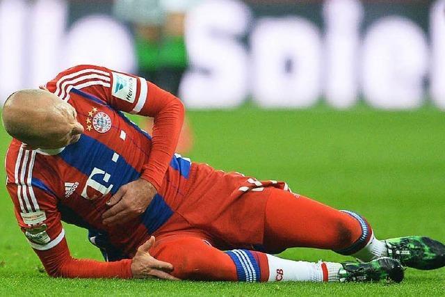 Verletzung des Bayern-Spielers: Was ist mit Robben los?