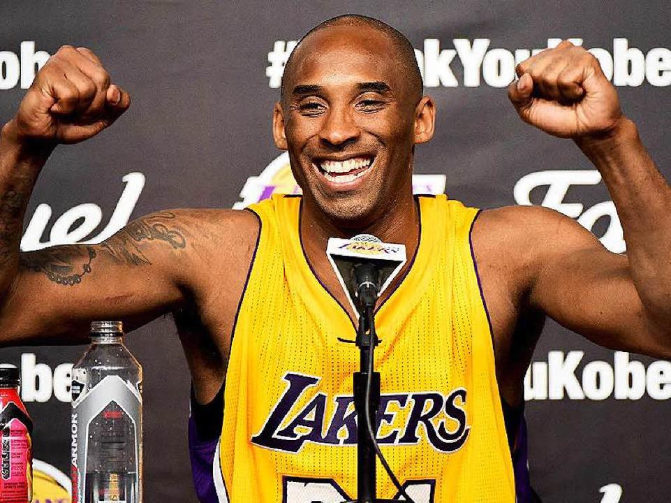 Ein ganz Großer des Basketballs tritt ...lte in seinem letzten Spiel 60 Punkte.  | Foto: AFP