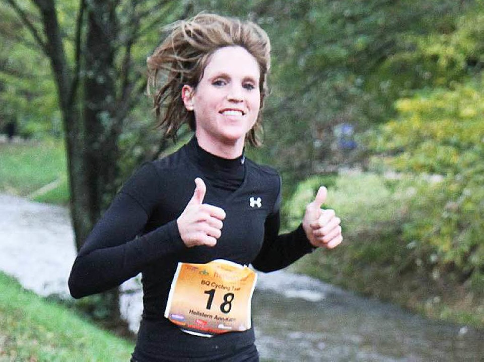 Ihr Start beim Freiburg-Marathon bleibt umstritten: Ann-Katrin Hellstern  | Foto: Stinn